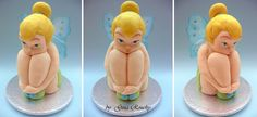Tinkerbell 3D Cake by *ginas-cakes on deviantART