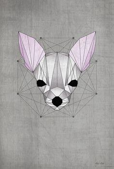 Dogs by Paula Maia, via Behance