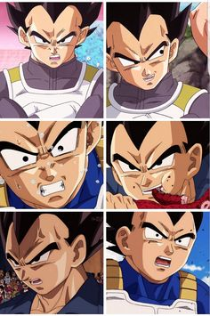 You know, I guess if we have to thank Super for anything, it's for some of these amazing close-up shots that they've given us. I mean honestly, Vegeta looks SMOKIN in the new style.