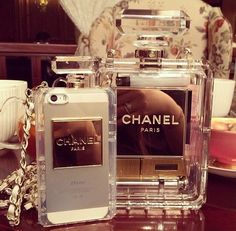 Bag: chanel phone case see through jewels white, tank top, chanel perfume bottle phone cases clutch