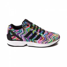 "Adidas ZX Flux ""Multi Color Chevron"" CAN ONLY GET THEM HERE! 