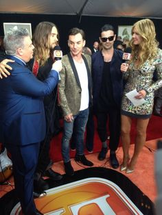30 Seconds to Mars - 56th annual GRAMMY Awards