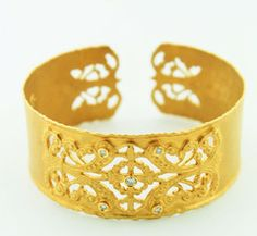 Cuff bracelet. For wholesale inquiries contact us at info@hweisscompany.com