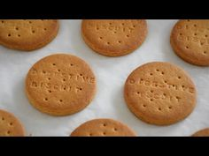DIGESTIVE BISCUIT RECIPE | HOME MADE HEALTHY ATTA BISCUIT | DIGESTIVE BISCUIT - YouTube Atta Biscuits Recipe, Biscuit Recipe Video, Healthy Biscuits, Homemade Biscuits, Eggless Biscuits, Digestive Cookie Recipe, Digestive Cookies, Digestive Biscuits, Biscuits