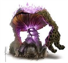 Mushroom Golem by ~JamesJKrause on deviantART