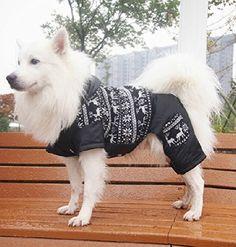Pet Ski clothing Winter and autumn warm cotton coats medium dog Silver fox Cocker Spaniel Samoyed dog dress up Costume Clothes Outfit Black XL Update Everyday http://www.amazon.com/dp/B00PQUUFBI/ref=cm_sw_r_pi_dp_sMQyvb0HT27PQ