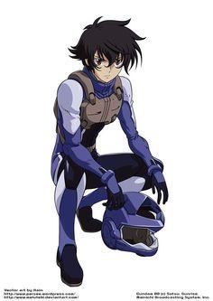-Gundam 00- Setsuna/Soran by Meluteki on DeviantArt