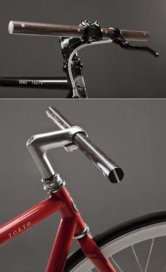 F's bicycle handlebars