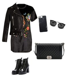 """""""Untitled #37"""" by antoberneche on Polyvore featuring Acne Studios, Chanel and Prada"""