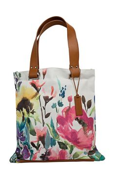 water colour tote