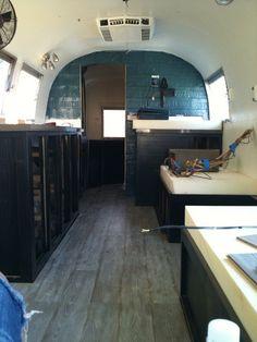 Custom Airstream renovation by Avante Interiors, via Flickr