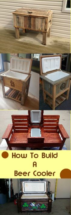 Would You Like To Learn How To Build A Beer Cooler From Free Pallets?Watch The Video: http://vid.staged.com/HUHs