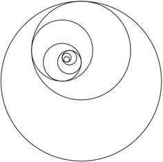Image result for template fibonacci sequence collage circular