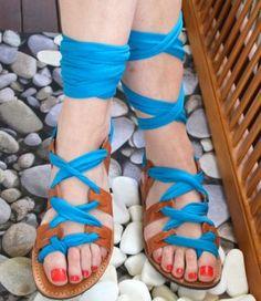 handmade greek sandals Greek Sandals, Shoes Sandals, Boots, Handmade, Fashion, Crotch Boots, Moda, Hand Made, Fashion Styles