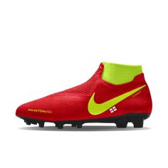 4d7d18401 Nike Phantom Vision Elite FG iD Firm-Ground Football Boot Nike Football  Boots, Soccer