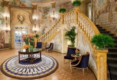 The Pierre New York Hotel Owns Five Stars. Here's Why: The Wow Factor at The Pierre Hotel New York: Its Quiet Elegance Hotels In New York, Nyc Hotels, Hotel Deals, Hotels And Resorts, Luxury Hotels, Luxury Escapes, Central Park, Palaces, Pierre Hotel