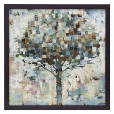 #zgallerie  Sun Shower  $199.95  Trees are relaxing. This piece has a lot going on, but still simple and nice.