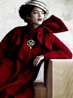 SHE LOVES FASHION - Vogue Brazil February 2014 #millinery #judithm #hats