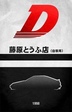 Movie Car Posters (56 pics) 53: Initial-D