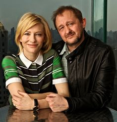Cate Blanchett and Andrew Upton. And learning what it means to be each other's better half.