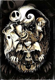 Kingdom Hearts & Nightmare Before Christmas