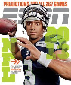Seattle Seahawks QB Russell Wilson, ESPN The Magazine, September 2, 2013