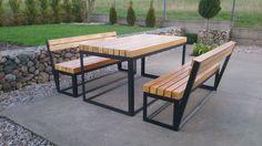 Zrób to sam. Nowoczesne meble ogrodowe. DIY Modern Garden Furniture.