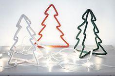 Les mots en Laine:Merry Christmas! #sapins en #laine blog.lepetitflorilege.com