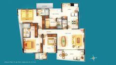 3 Suítes 134,04 a 157,15 m² – Corretor de Imóveis
