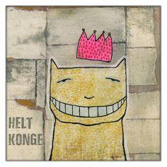 Helt Konge! Print av Janne Lykke Wilhelmsen