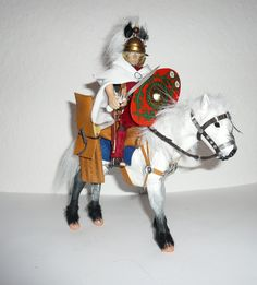 Roman Auxilary Horseman by JannisKernert on DeviantArt Romans, Diorama, Samurai, Army, Deviantart, Military, Dioramas, Novels, Samurai Warrior