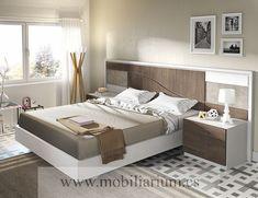 Dormitorios Modernos Lanmobel - Composición 11 Cabecero  Silence - Catálogo Muse - Mobiliarium