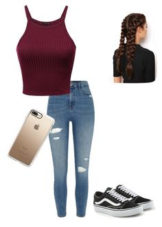 """""""Untitled #64"""" by jay-love12 on Polyvore featuring River Island, Vans, LullaBellz and Casetify"""