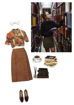 """""""Run and Tell That // Hairspray"""" by cassie-paulke ❤ liked on Polyvore featuring Vanessa Seward, Moschino, books, library, study and studyfashion"""