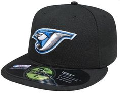 MLB Toronto Blue Jays Authentic On Field Game 59FIFTY Cap, Black, 7 1/8