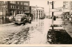 Flooded PA Ave.