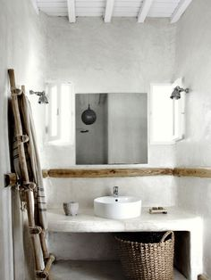 Here we showcase a a collection of perfectly minimal interior design examples for you to use as inspiration.Check out the previous post in the series: 30 Examples Of Minimal Interior Design Interior Design Examples, Interior Design Inspiration, Design Ideas, Interior Concept, Bad Inspiration, Bathroom Inspiration, Bathroom Interior, Home Interior, Wood Bathroom