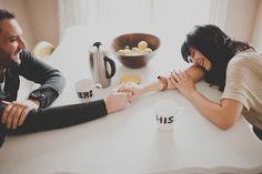 Inspire Wedding | Loveshoot inspiration | breakfast shoot with coffee