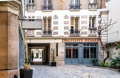 Paris 4e - Passage Charlemagne, 2e cour .