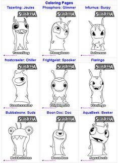 Httpskgaleanacomslugterra printables activities and
