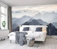 Mountain Mural Wall Art #SimpleShapes   Simple Shapes Shop ...