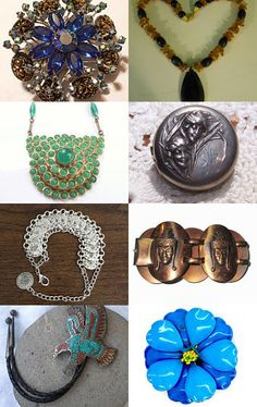 Vintage Jewelry from the VJT  by Darlene on Etsy--Pinned with TreasuryPin.com