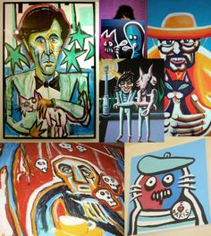 noel fielding art prints - Google Search