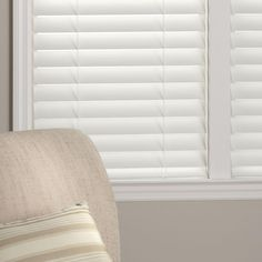 home depot faux wood blinds. Home Decorators Collection White 2-1/2 In. Premium Faux Wood Blind - 25 W X 84 L (Actual Size 24.5 ) Depot Blinds D