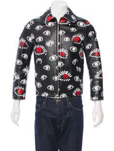 Comme des Garçons Printed Textured Jacket