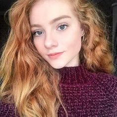 @julia.adamenko   ~  @gagachem  ~  #redhead #sexyredhead #ginger #redhair #redheadsofinstagram #ruiva #redheads #gingerlife #redhairdontcare #redheadgirl #pale #model #redheadsdoitbetter #gorgeous #makeup #smile #beauty #selfie #gingergirl #iamredhead #naturalbeauty #makeup #freckled #freckledfaces