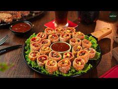 Bread Pizza Rolls With Coke Lemonade Recipe by SooperChef - YouTube Bread Pizza, Pizza Rolls, Ramadan Recipes, Iftar, Coke, Paella, Lemonade, Meals, Ethnic Recipes