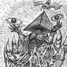 """""""Illuminated"""" (Sketch, 2015) #sketch #sketches #sketching #sketchbook #psy #psychedelic #psychedelicart #psyart #visionary #visionaryart… Psy Art, Visionary Art, Psychedelic Art, Sketching, Inspiration, Instagram, Biblical Inspiration, Sketch, Sketches"""