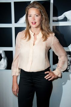 Virginie Efira attends the Chaumet's Cocktail Party for Cesar's Revelations 2012 on January 16, 2012 in Paris, France.