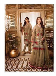 583a8d14e8 SAFEERA Embroidered Chiffon Vol 03 · 14 Beautiful Pakistani Dresses, Ladies  Salwar Kameez, 3 Piece Suits, Pakistani Designers,